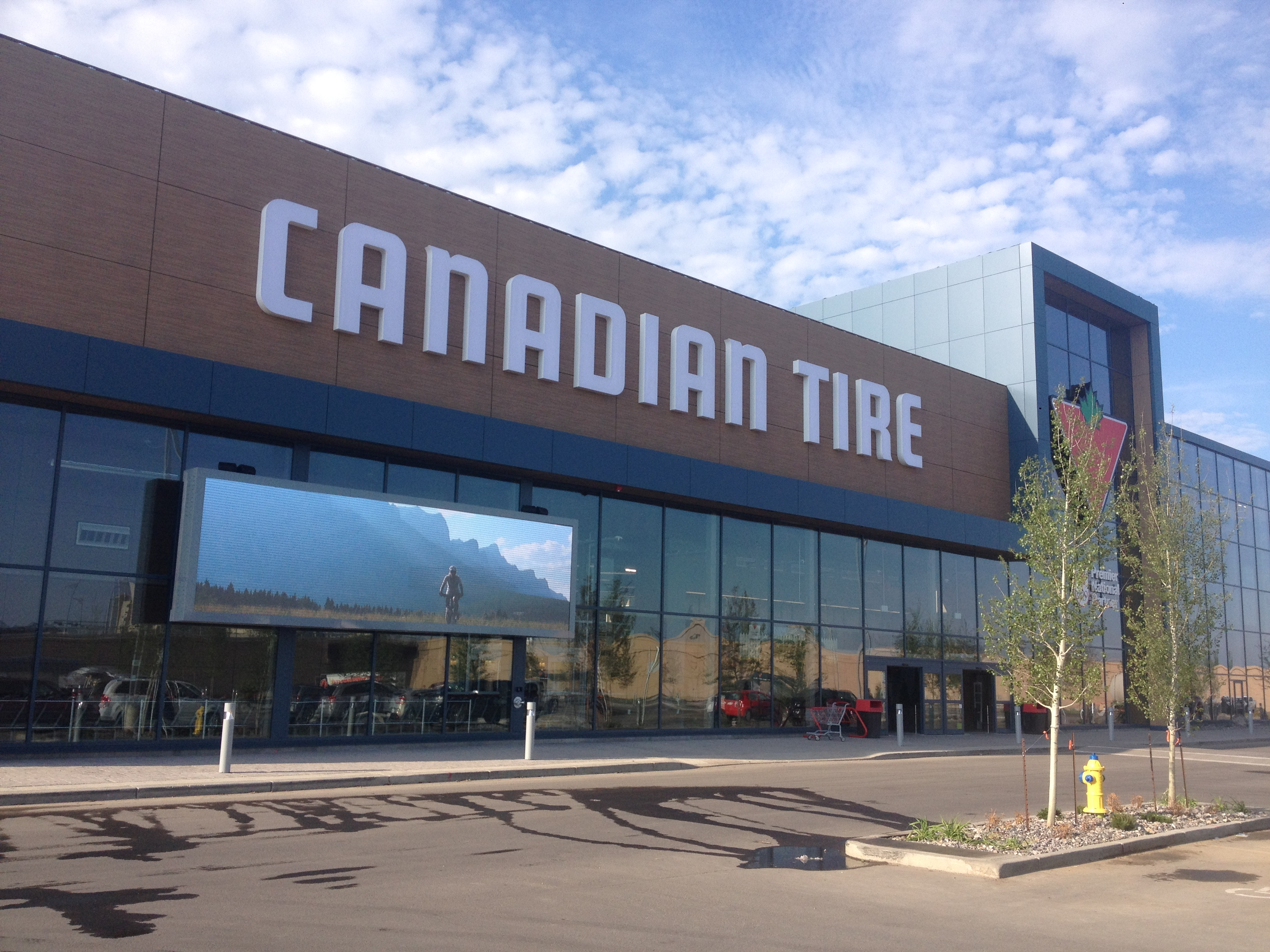 Upad5 Canadian Tire Center, Canada,2015